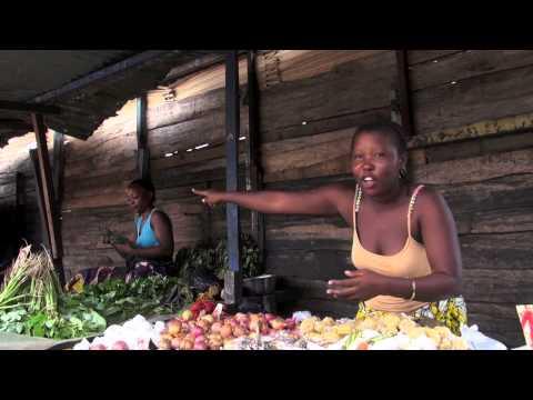 Marché de KM4 (Pointe Noire - Congo)