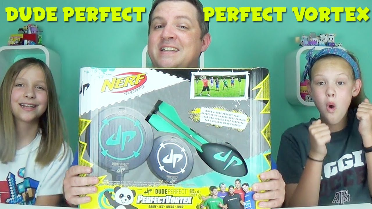 Dude Perfect | Perfect Vortex Target Throwing Game