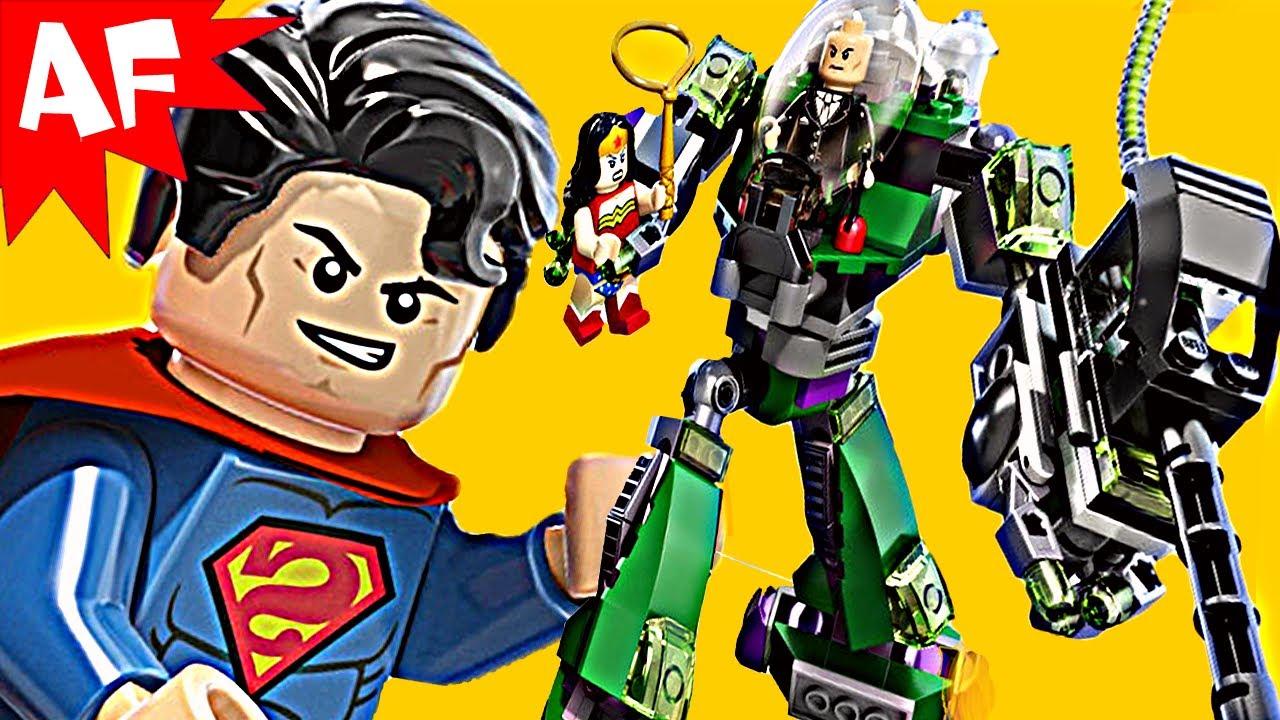 SUPERMAN vs Power Armour LEX LUTHOR 6862 Lego DC ...