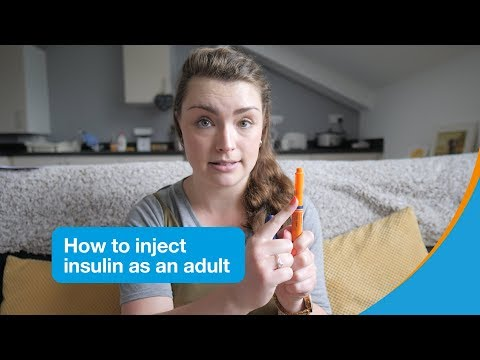 How to inject insulin as an adult | Diabetes UK