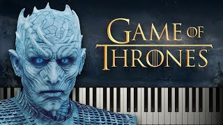 The Night King (from Game of Thrones Season 8)  Piano Tutorial