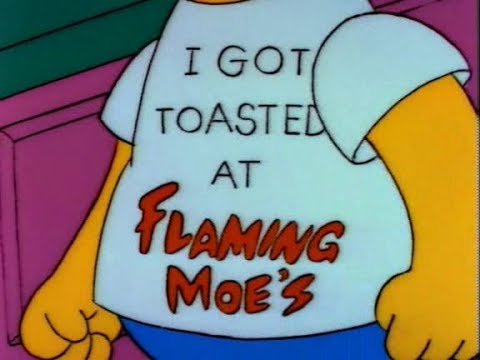 6d01981f9e7 Os Simpsons - Moe Flamejante - YouTube