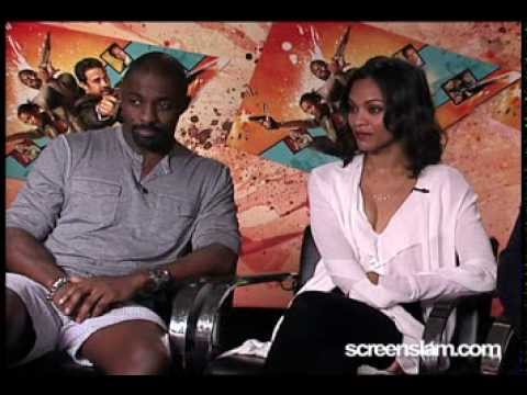 The Losers: Idris Elba, Zoe Saldana and Jeffrey Dean Morgan Interview