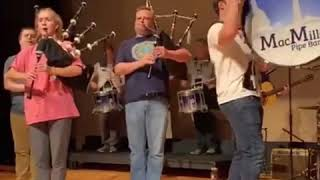// Donella Beaton // MacMillan Pipe Band