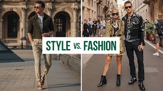 Style Vs. Fashion...What's the difference? | One Dapper Street