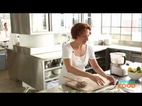 Black Bean and Cheese Tacos | Everyday Food with Sarah Carey