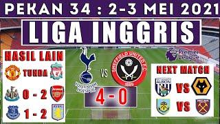 Hasil Liga Inggris Tadi Malam ! Tottenham Hotspur Vs Sheffield United ! Klasemen Liga Inggris !