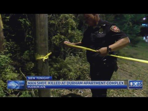 Man shot, killed in Durham