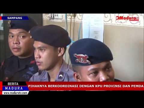 Persiapan Pilkada Ulang KPU Sampang Kelimpungan Soal Biaya Madura TV 09092018