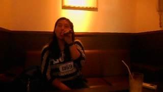 "Singing ""Let It Go""(Frozen) at Karaoke"