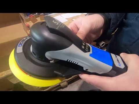 Электрическая шлифмашина Delmeq: первые впечатления эксперта