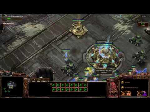 Starcraft 2 BEING TROLLY IN GAMES! super fun!