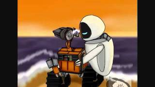 wall-e and eve all that love