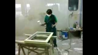 Покраска окон ОкнаДока - реставрация окон(, 2012-02-24T09:01:24.000Z)