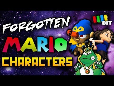 Forgotten Super Mario Characters (ft. NicoBBQ, Minus World) [TetraBitGaming]