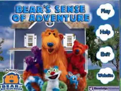 Bear in the Big Blue House: Bear's Sense of Adventure Walkthrough
