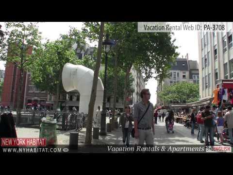 Video Tour of a 1-Bedroom Vacation Rental in Le Marais, Paris