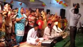 Banke Bihari Teri Arti Gaoo on Shri Bhagwat Saptah held by Ladies Sabha Sat Narain Mandir Rajpura