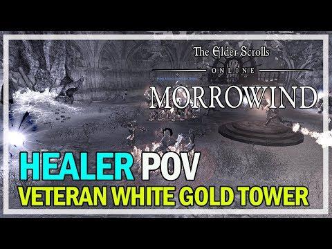 Veteran White Gold Tower HM Healer PoV - The Elder Scrolls Online
