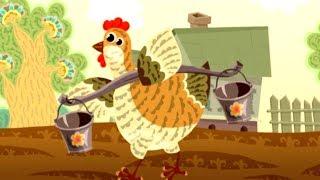 Ума-ма потешки для детей (Курочка Рябушечка) | Короткометражные мультфильмы
