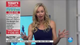 HSN | HSN Today: ProForm Fitness 01.03.2017 - 08 AM