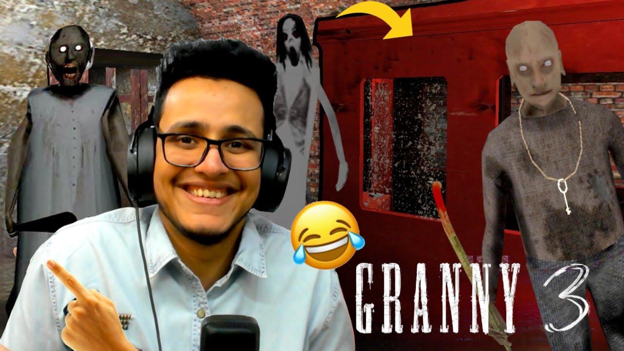 Granny ki Train Chura Li😂 | Granny 3 Train Escape