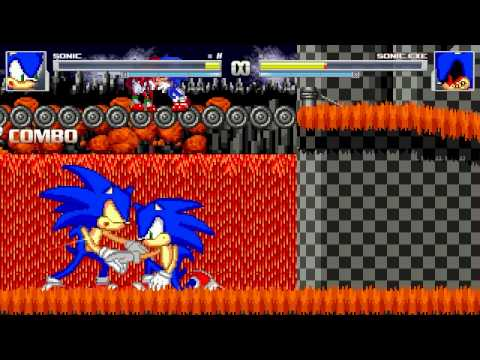 AN Mugen Request #158: Sonic VS Sonic.exe