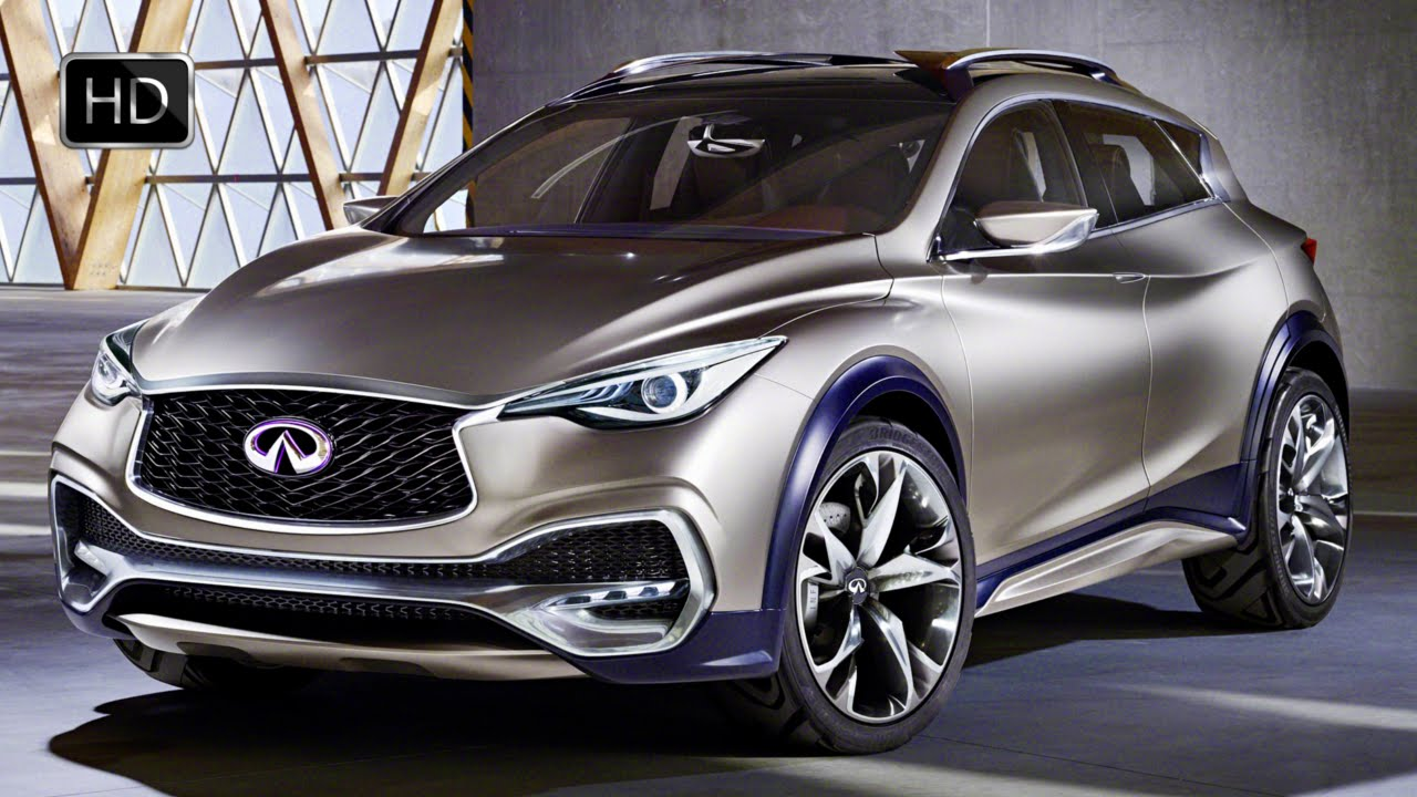 2016 infiniti qx30 crossover concept car first look design hd youtube. Black Bedroom Furniture Sets. Home Design Ideas