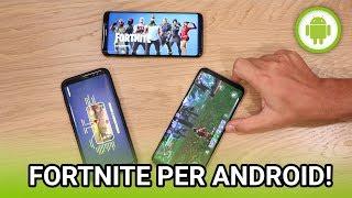 Fortnite ANDROID Gameplay ITA: eccolo in azione e come scaricarlo!