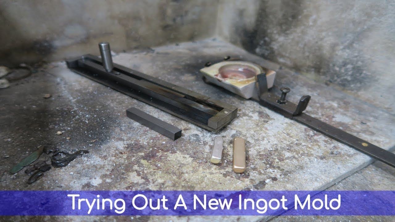 The New Ingot Mold from Hans Meevis - How To Pour Ingots