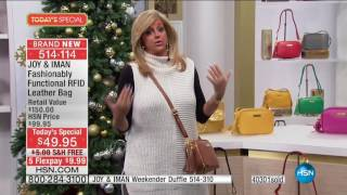 HSN | Joy & IMAN: Fashionably Functional 12.03.2016 - 01 AM
