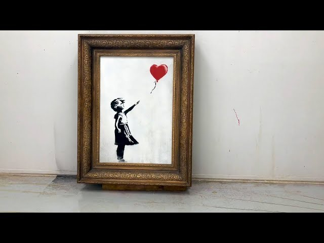 01ebb5417 Banksy reveals how Sotheby's shredding stunt went wrong | The ...