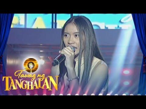 Tawag ng Tanghalan: Niña Brigette Cabigas...