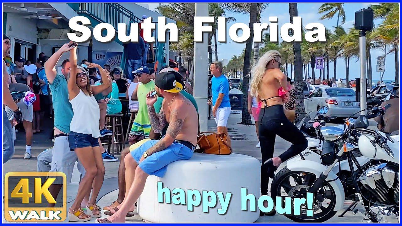 【4K】WALK Fort Lauderdale FLORIDA 4K video Travel channel USA