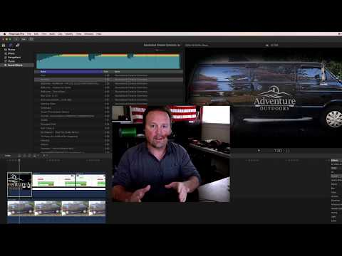 How To Add Your Own Music & Audio To FCPX 10.3
