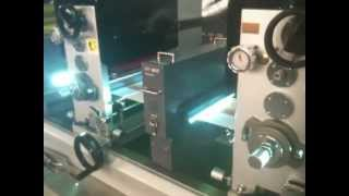macchina da stampa offset flessografica tipografica serigrafica à caldo etichette adesive