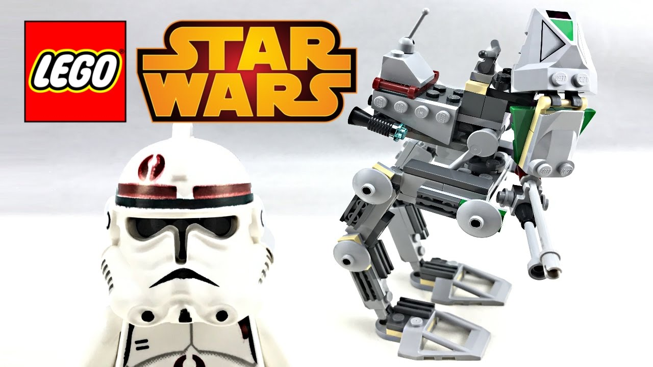 Lego Star Wars Clone Scout Walker Review And Unboxing 2005 Set 7250