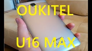 OUKITEL U16 MAX UNBOXING & SHOWCASE