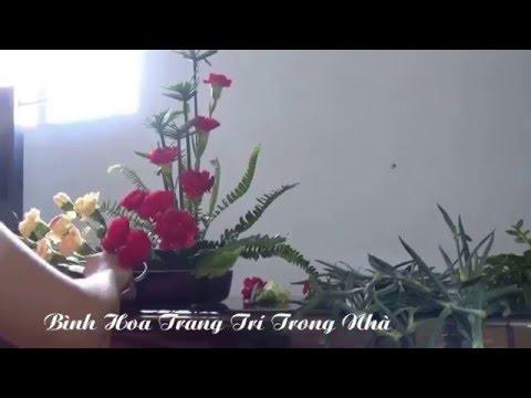 Nghệ Thuật Cắm Hoa - Bình Hoa Trang Trí Trong Nhà