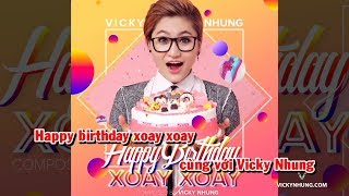 Happy Birthday (Karaoke) - Vicky Nhung