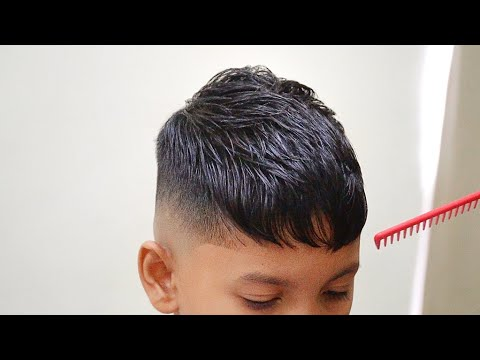 BEST Crop FADE for Little Boys /2020