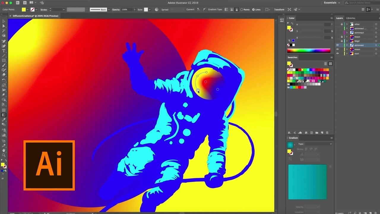 There's a new Gradient tool coming to Adobe Illustrator - News - Digital Arts