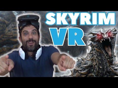 Skyrim en Realidad Virtual y Mareos Varios