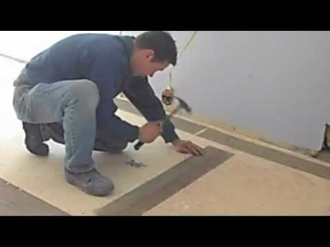How to prep your kitchen sub-floor, before tile install, on a very small budget.