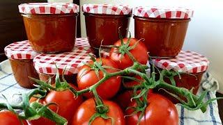 Pizzasoße / Tomatensoße auf Vorrat   Thermomix® TM5 / TM6