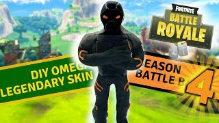 "DIY Omega skin from ""Fortnite"" - clay tutorial"