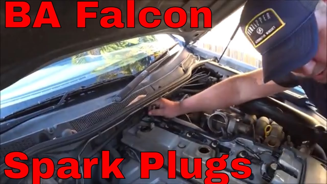 Ba Falcon Spark Plugs And Ignition Coil Packs Youtube