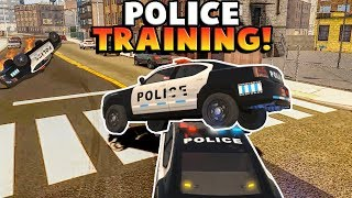 POLICE CHASES AND TRAINING! - Flashing Lights Multiplayer Gameplay Roleplay (Kid Friendly Gaming!)