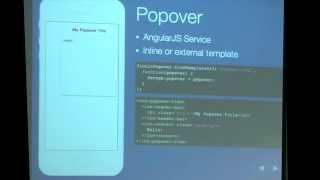 Building Hybrid Apps with Angular.js and Ionic