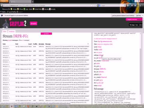 GrayLog2 Search Tutorial - YouTube